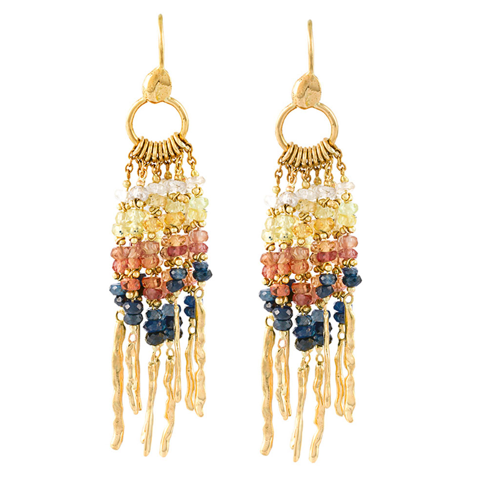 earring earrings rod product massoni sapphire sunset