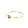 Small Nugget Plain Stacking Ring