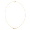 Small Nugget Plain Frontal Necklace