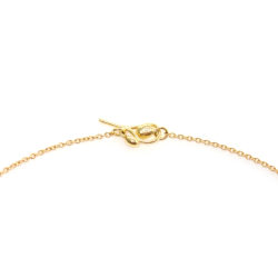 Small Nugget Diamond Frontal Necklace