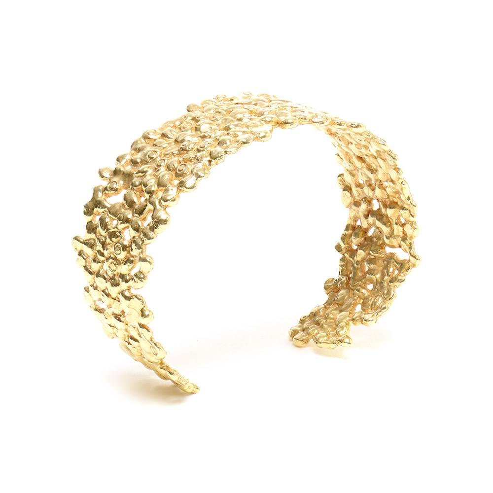 Small Gold Cuff