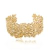 Small Gold Cuff with Diamonds