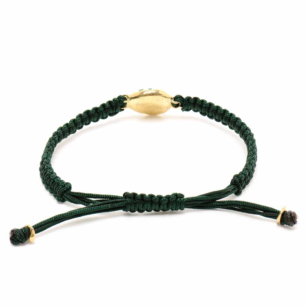 Large Friendship Emerald Bracelet
