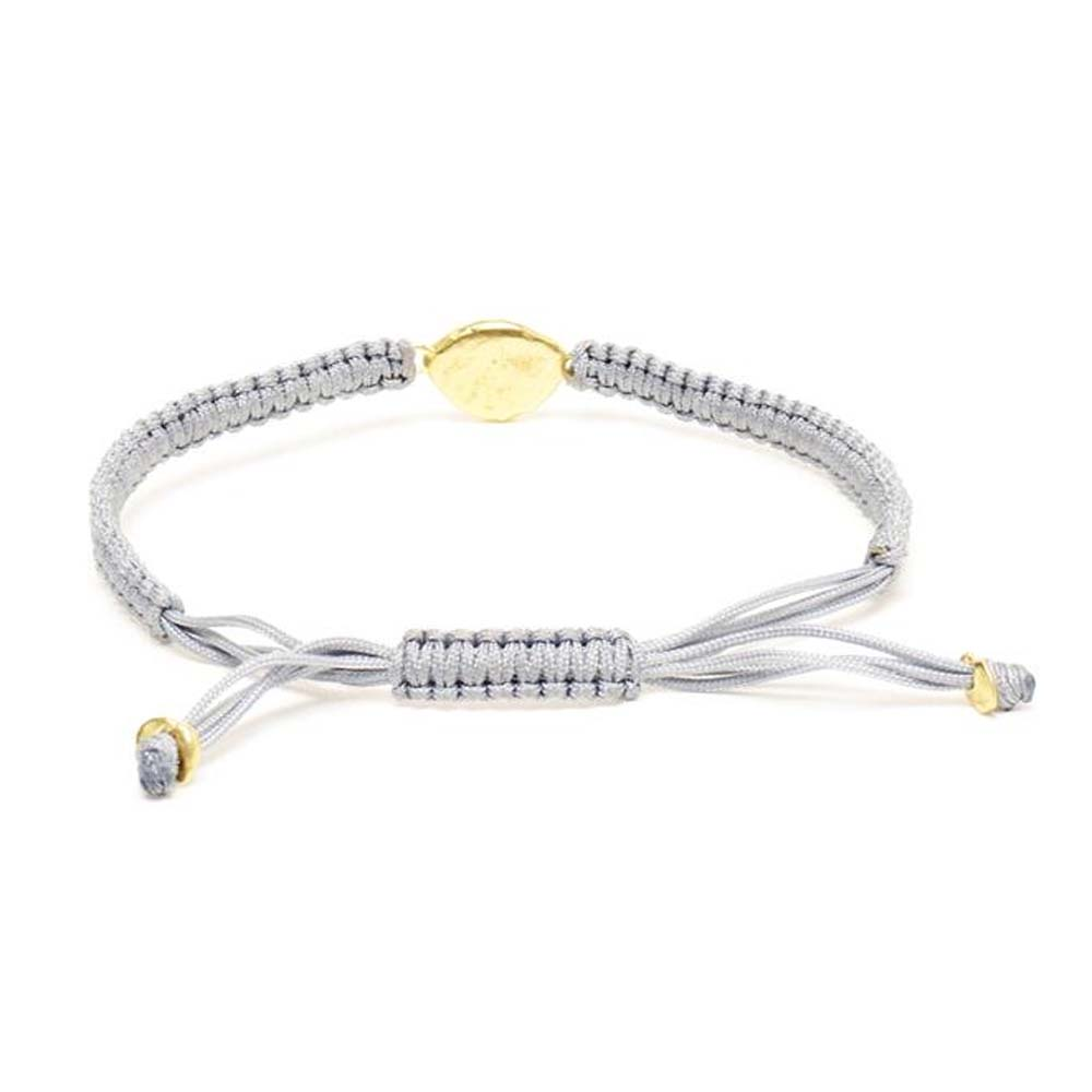 Medium Friendship White Diamond Bracelet