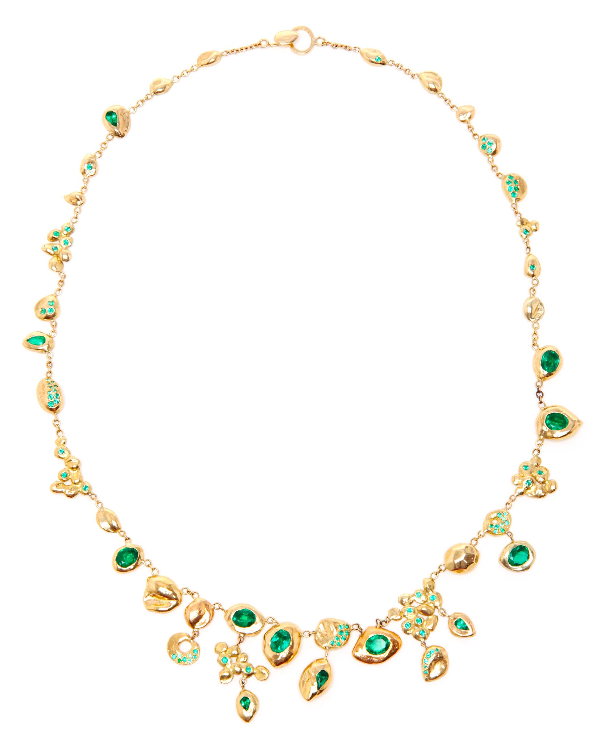 Gemfields Collaboration Emerald Necklace