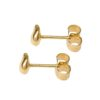 Small Nugget Plain Studs