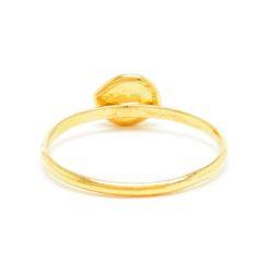 Stacking Medium Nugget Brown Diamond Ring