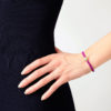 Medium Friendship Pink Sapphire Bracelet