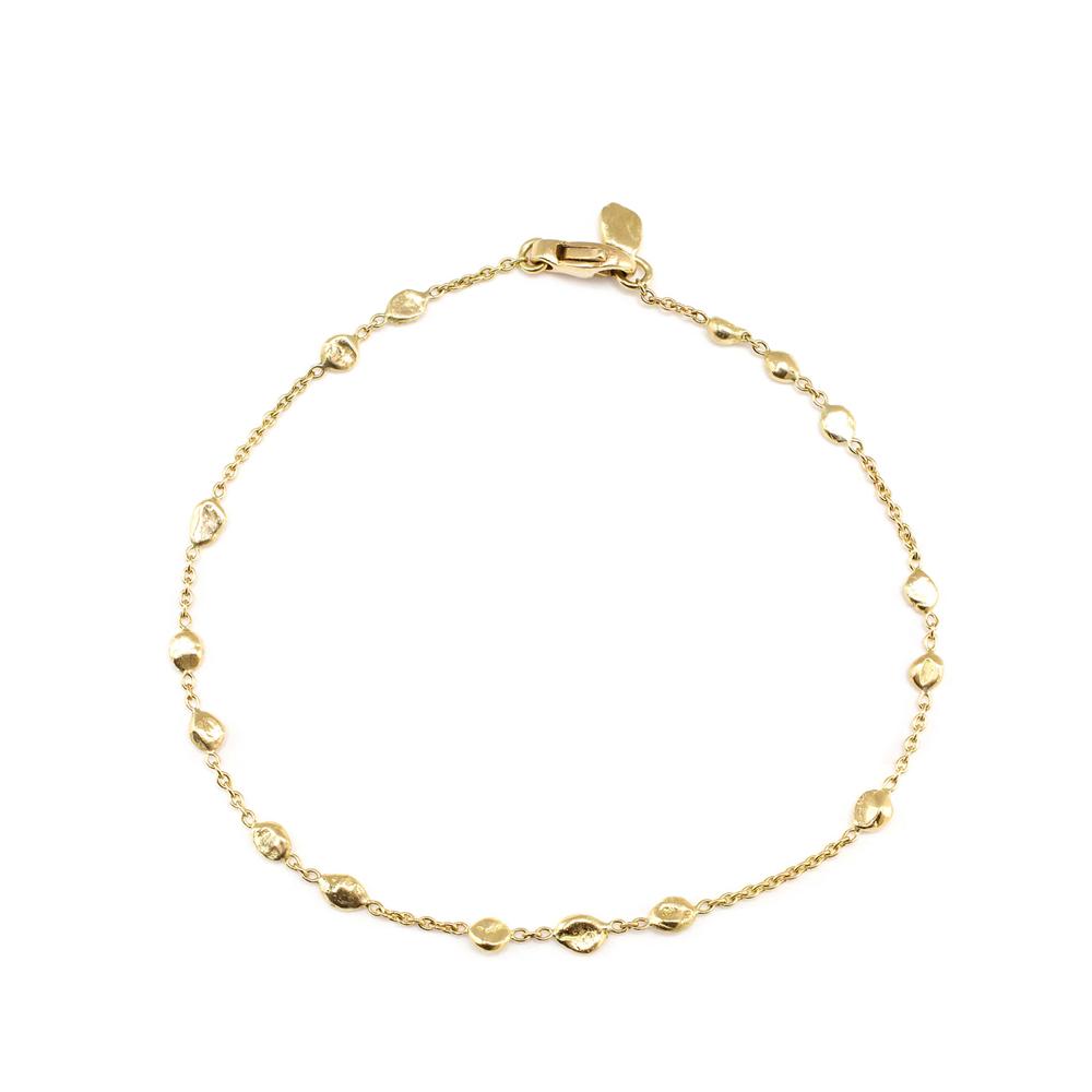 Small Random Nugget Bracelet