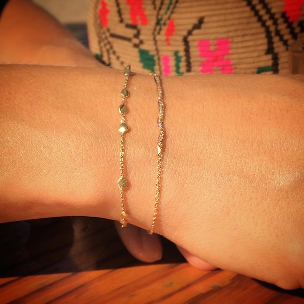 Small Nugget Bracelet