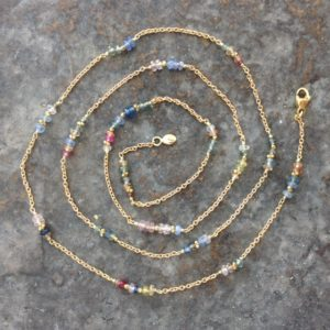 Candy Multi-Stone Necklace - Tucky